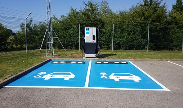 Electric Car Charging Stations at Westcott