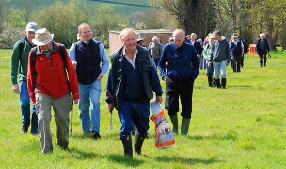 Local walks at Westcott